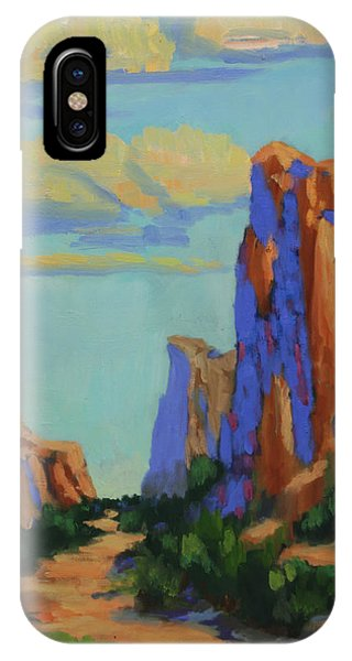 Courthouse Rock In Sedona IPhone Case