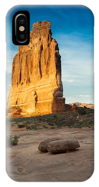 Courthouse Rock IPhone Case