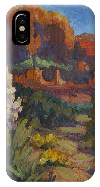 Courthouse Rock Sedona IPhone Case
