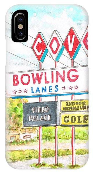 Cove Bowling Lanes In Bamington - Massachusetts IPhone Case