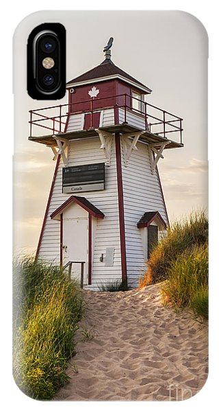 Lighthouse iPhone Case - Covehead Harbour Lighthouse by Elena Elisseeva