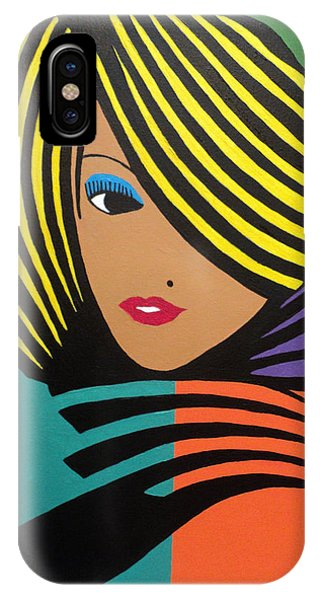 Cover Girl II IPhone Case