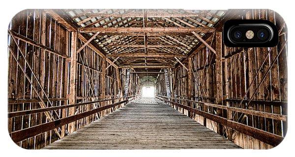 Covered Bridge iPhone Case - Covered Bridge by Cat Connor