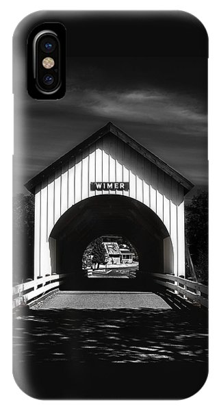 Covered Bridge IPhone Case
