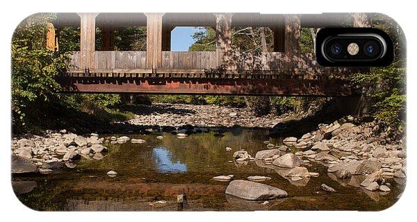 Covered Bridge Near Jamaica Vermont IPhone Case
