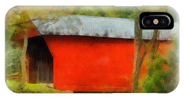 Covered Bridge - Sinking Creek IPhone Case