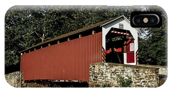 Covered Bridge Phone Case by Timothy Clinch