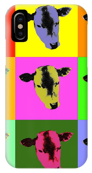 Cow Pop Art IPhone Case