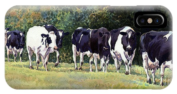 iPhone Case - Cow Trail by Anthony Forster