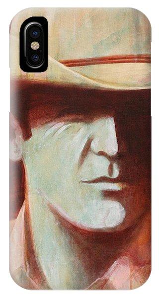 Cowboy Phone Case by J W Kelly
