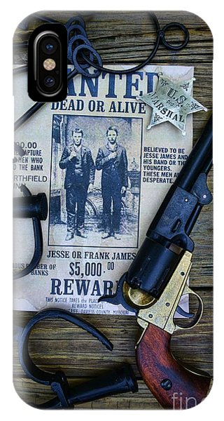 Alive iPhone Case - Cowboy - Law And Order by Paul Ward