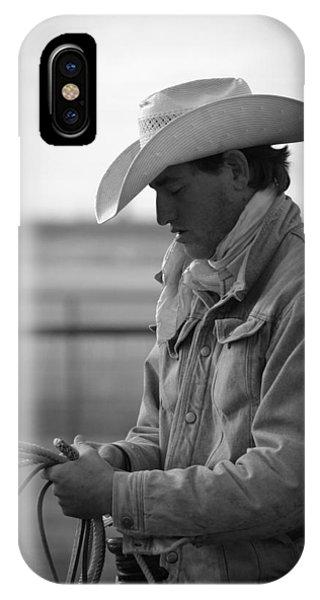 Cowboy Signature 10 IPhone Case
