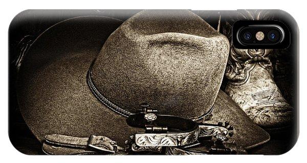 Cowboy Toast IPhone Case