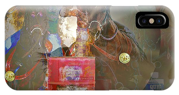 Cowgirl Cadillac IPhone Case