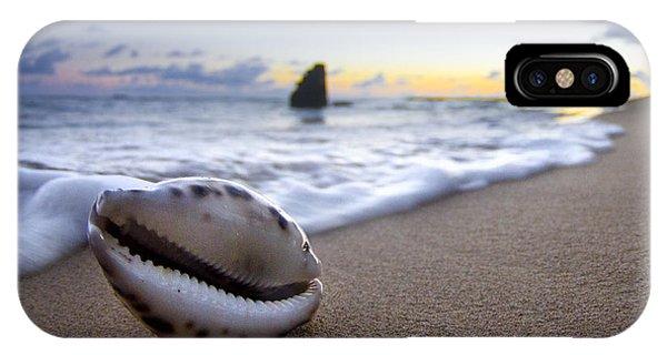 Sea iPhone Case - Cowrie Sunrise by Sean Davey