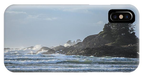 Cox Bay Afternoon Waves IPhone Case