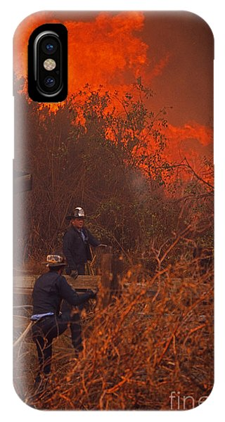 Coyote Fire - 1969 IPhone Case