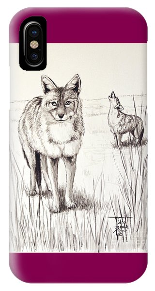 Coyote Life IPhone Case
