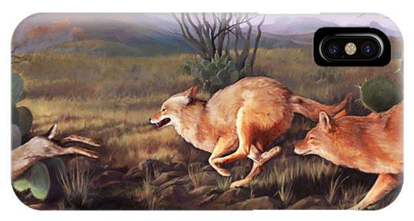 Coyote Run IPhone Case
