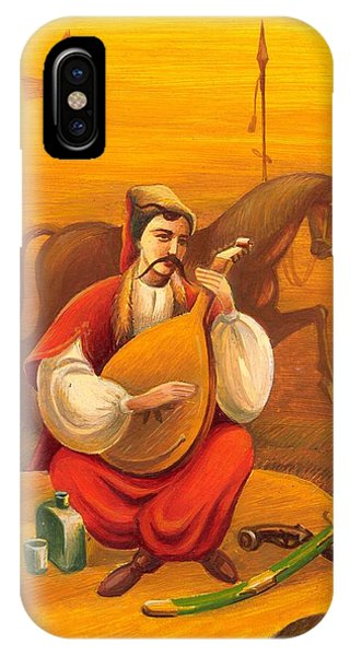 Cossack Mamay IPhone Case