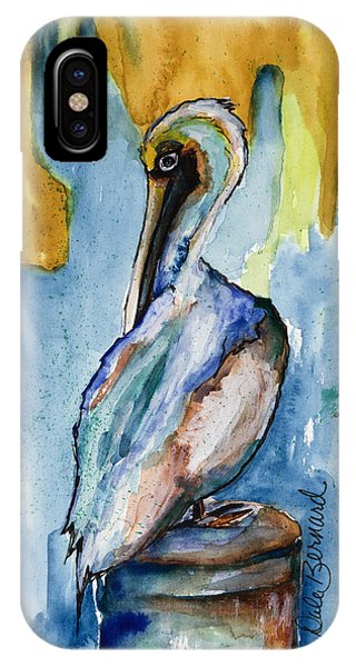 Cozumel Pelican  IPhone Case
