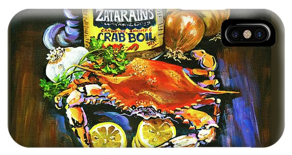 Food And Beverage iPhone Case - Crab Fixin's by Dianne Parks