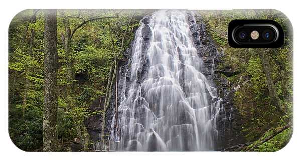 Crabtree Falls Panorama IPhone Case
