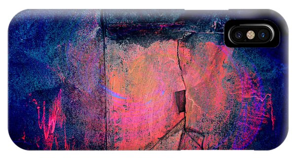IPhone Case featuring the digital art Cracked by Fran Riley