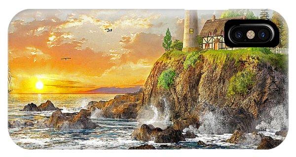 New England Coast iPhone Case - Craggy Cove by Dominic Davison