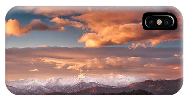 IPhone Case featuring the photograph Craggy Snow by Joye Ardyn Durham