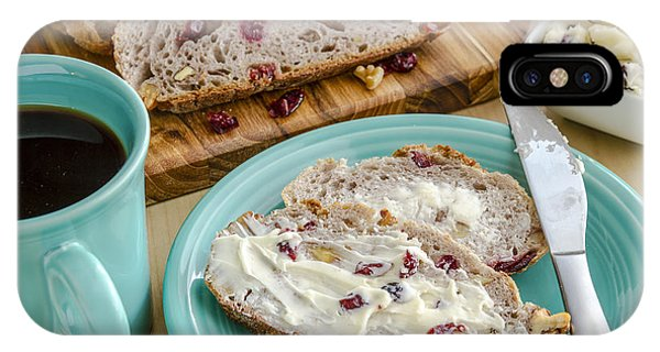 Cranberry Walnut Bread IPhone Case
