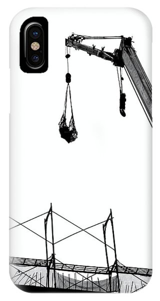 Crane And Construction Site IPhone Case