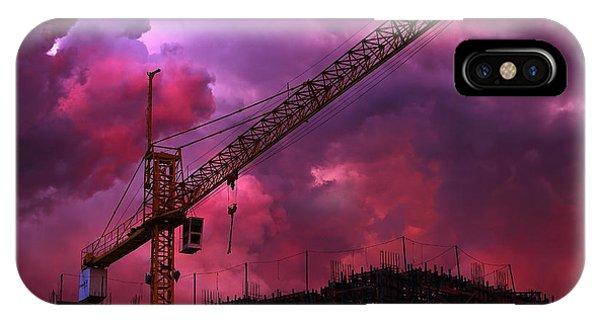 Crane I Phone Case by Felipe Djanikian