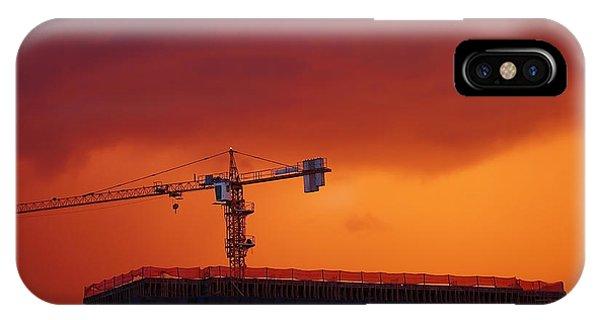 Crane II Phone Case by Felipe Djanikian