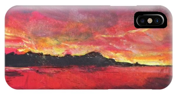 Cranes Beach Sunset IPhone Case