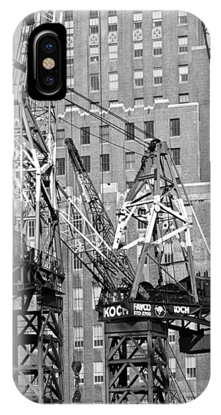 Cranes Ready For Action IPhone Case