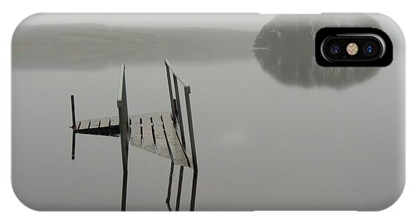 Crannog At Lake Knockalough IPhone Case