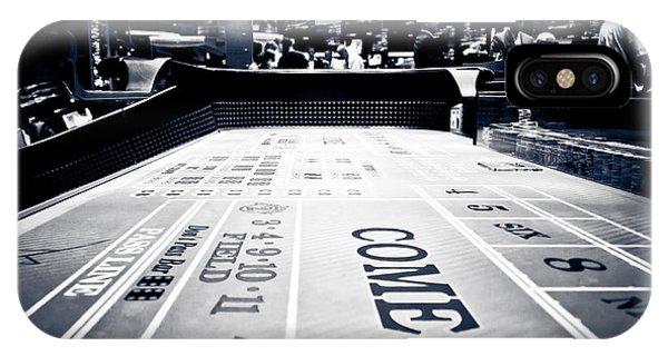 Craps Table In Las Vegas IPhone Case