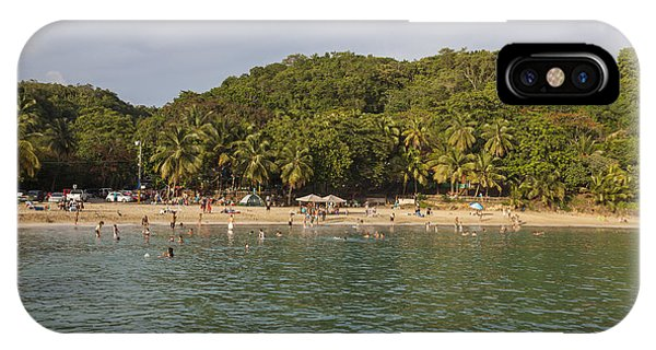IPhone Case featuring the photograph Crash Boat Beach In Puerto Rico by Bryan Mullennix