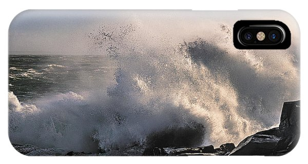 Crashing Surf IPhone Case