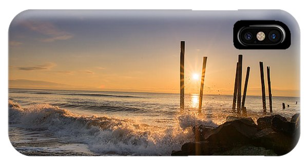 Michael iPhone Case - Crashing Waves by Michael Ver Sprill