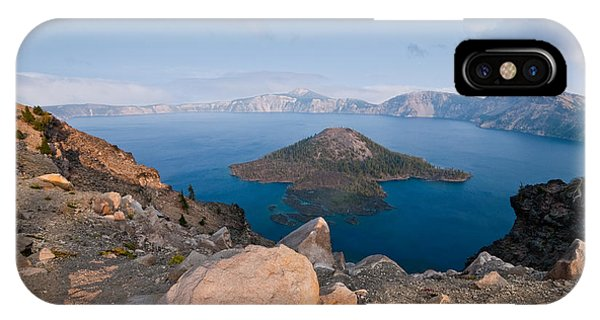 Crater Lake In The Evening IPhone Case