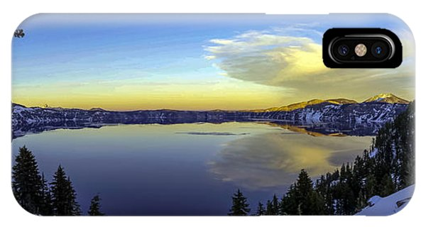 Crater Lake Panorama IPhone Case