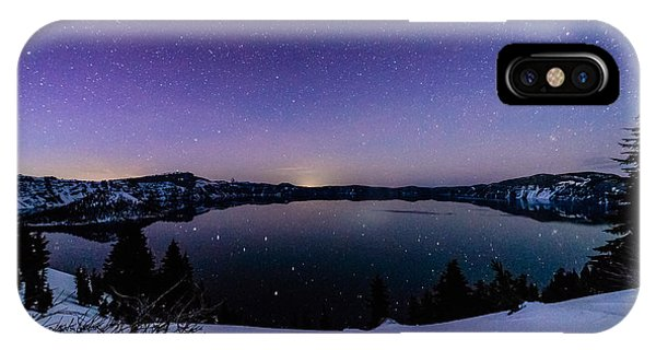 Crater Lake Reflections IPhone Case
