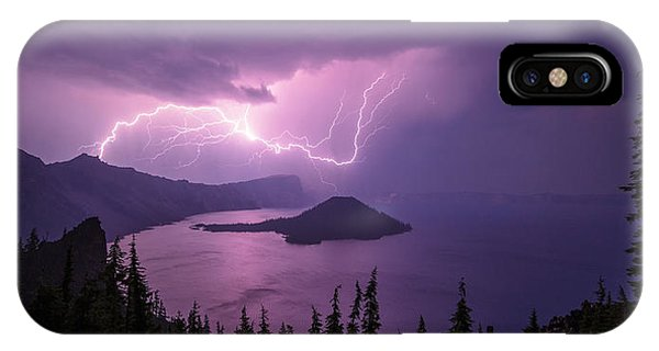Crater Storm IPhone Case