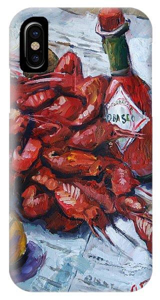 Crawfish Tabasco IPhone Case
