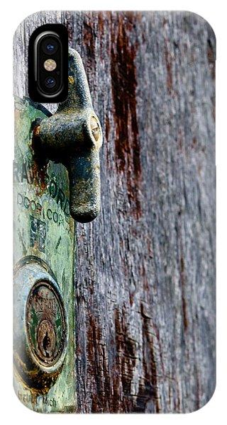 Crawford Door Co. Detroit IPhone Case