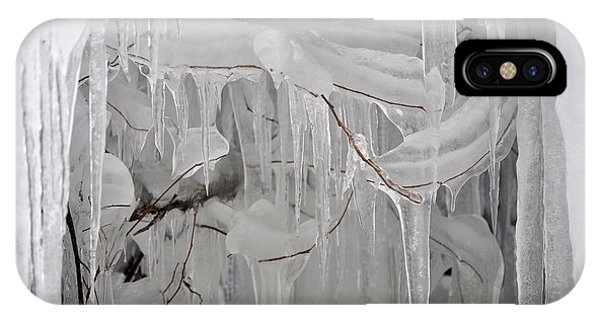 Crazy Icicles IPhone Case