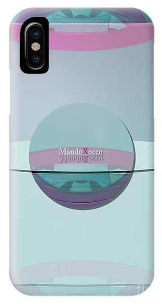 Cream Mint Labelle IPhone Case