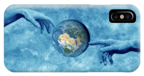 Creation Of The Earth Phone Case by Detlev Van Ravenswaay